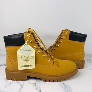 Telluride Water Resistant Flint Ankle Boots 8